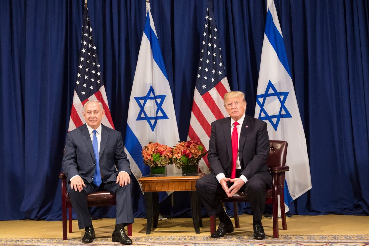 A call to pray for leaders President Trump and Prime Minister Netanyahu