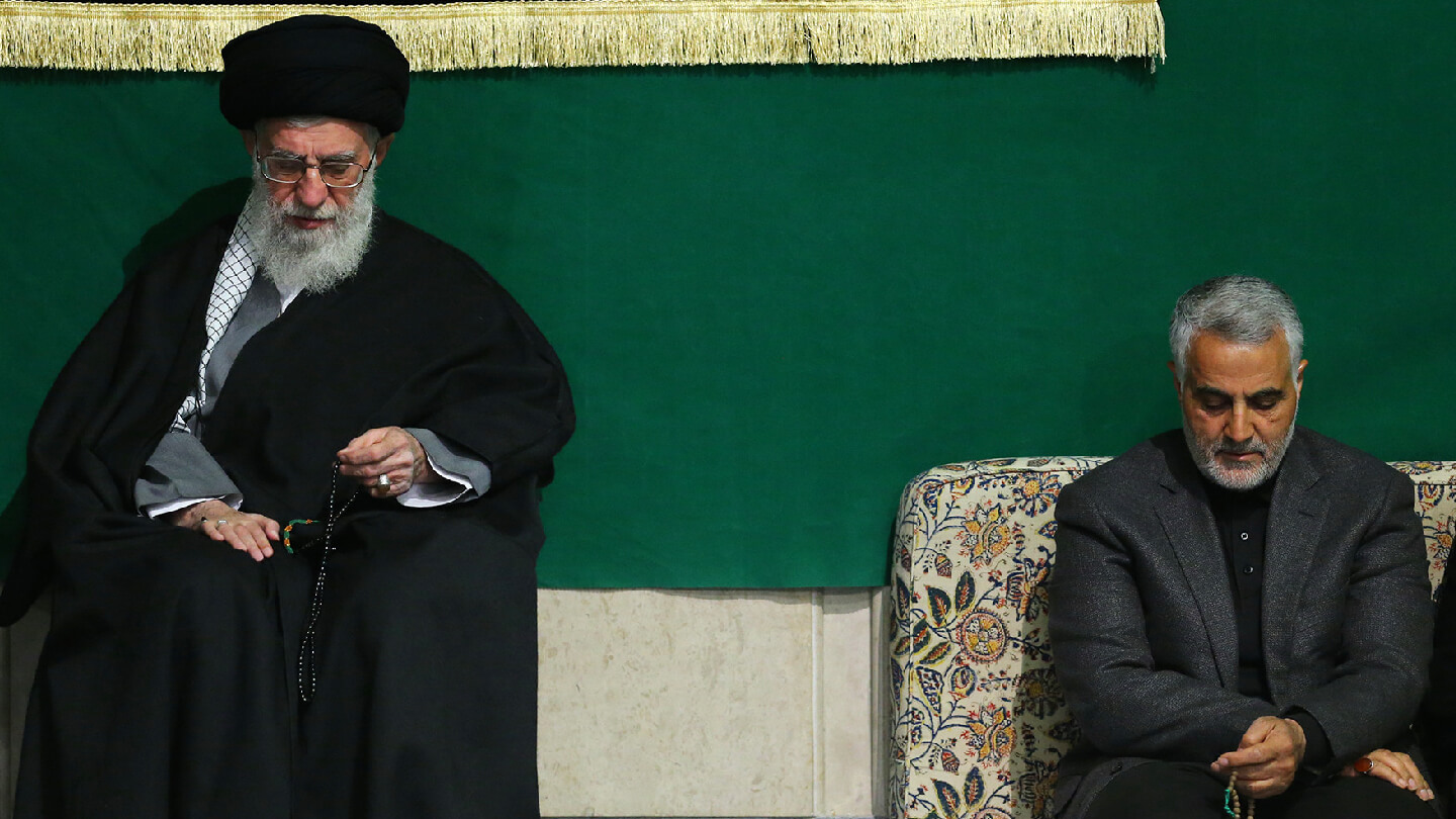 Succat Hallel Prayer Alerts | Ayatollah Sayyed Ali Khamenei and Qasem Soleimani in March 2015